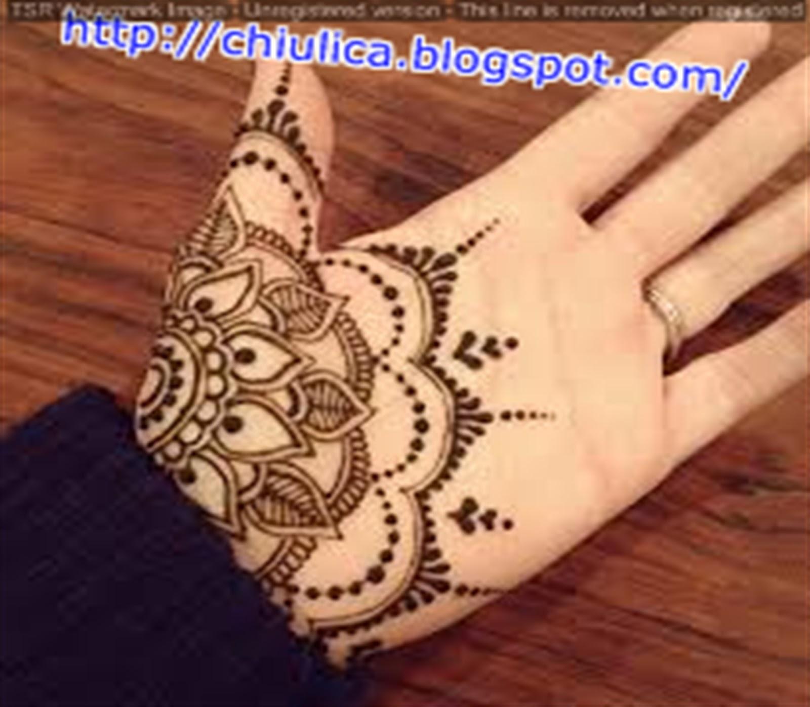 Gambar Lengkap Henna Rias Tangan Untuk Anda