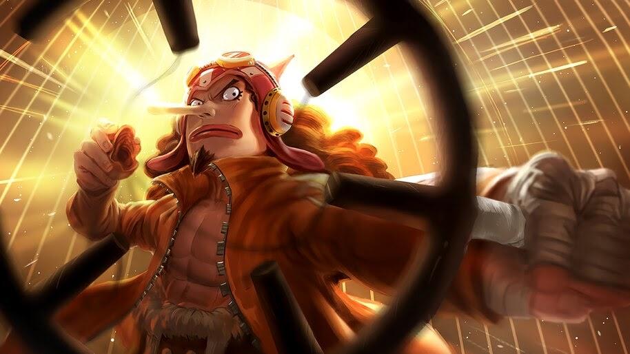 Usopp, One Piece, 4K, #6.181