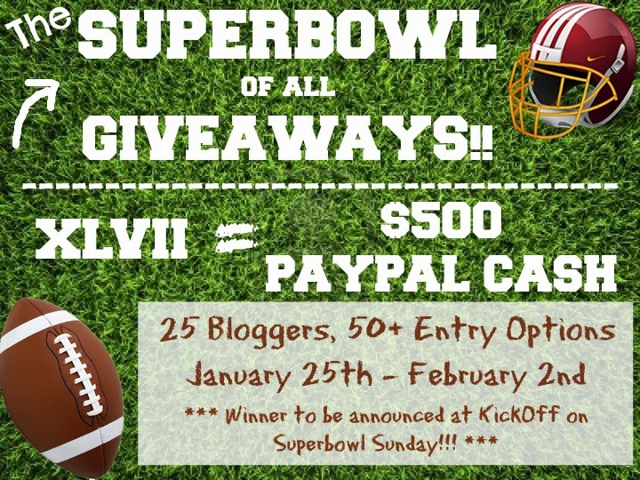 Football Giveaway for $500