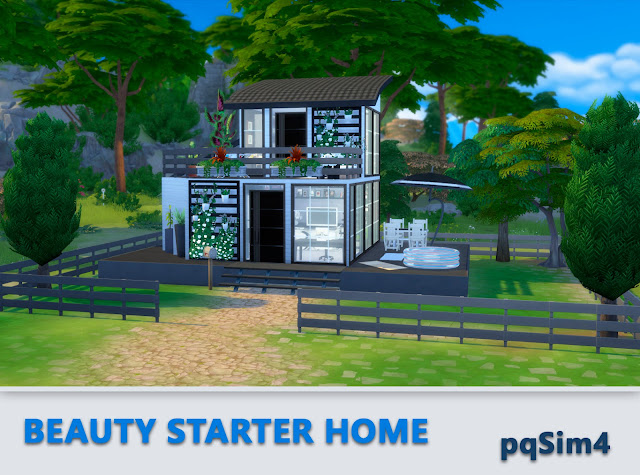 Beauty Starter Home. Exterior 7