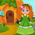 Games4King Girl Rescue From Pumpkin House