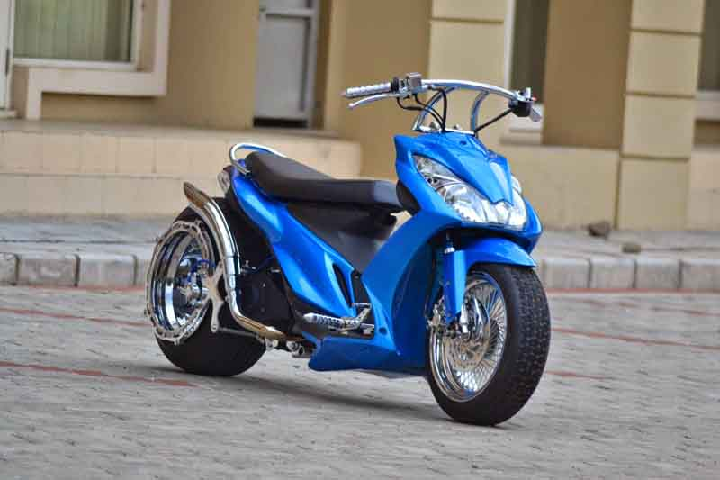 Kumpulan Foto Hasil Modifikasi Motor Suzuki Skydrive