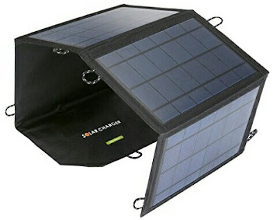 Foldable Solar Panel Smart Phone Charger