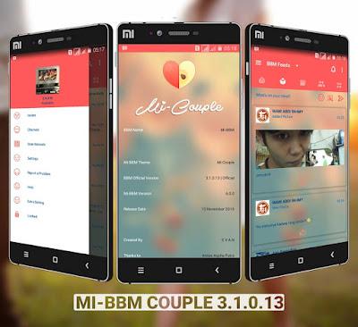 mi-bbm couple apk mod 2