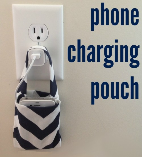 Phone Charging Pouch - Easy Tutorial
