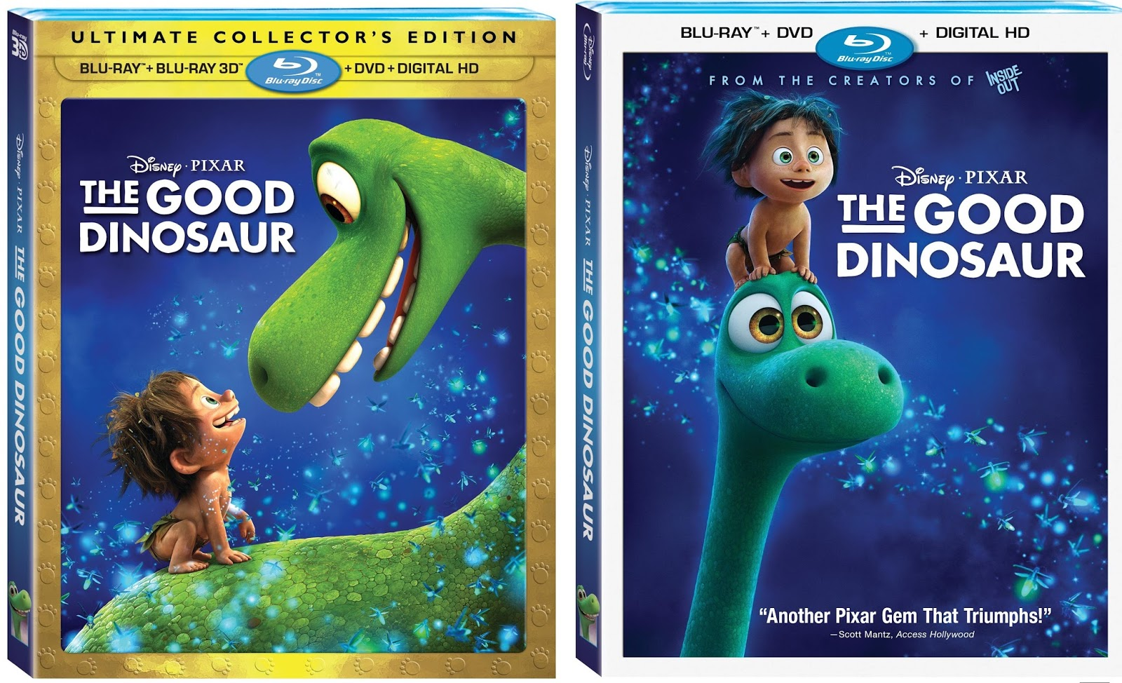 The Good Dinosaur Blu Ray Dvd Digital Review It S