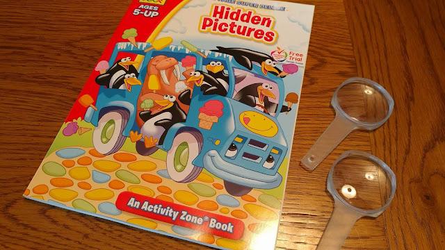 Hidden picture book