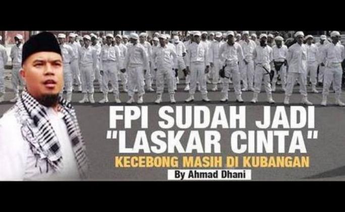 """Ahmad Dhani: FPI Sudah Jadi """"LASKAR CINTA"""", Kecebong Masih di KUBANGAN"""
