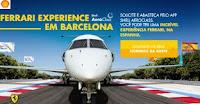 Promoção Shell Aeroclass 'Ferrari Experience em Barcelona' promoaeroclass.com.br