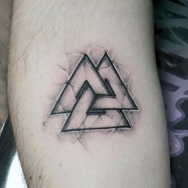 Tatuajes De Valknut El Nudo De Los Muertos Belagoria La