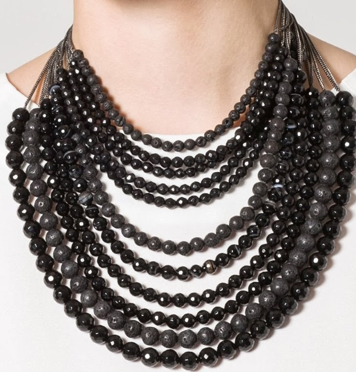 collar ideas looks noche lbd