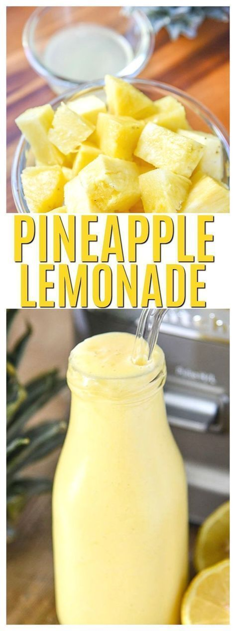 #Summer snacks #Pineapple mango lemonade #Summer treats #Smoothie drinks #Summer recipes Non alcoholic drinks
