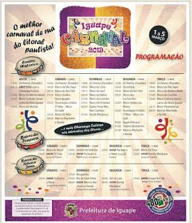 Carnaval Iguape 2019
