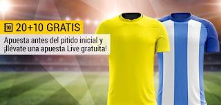 bwin promocion Las Palmas vs Malaga 5 febrero