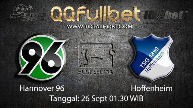 Prediksi Bola Jitu Hannover vs Hoffenheim 26 September 2018 ( German Bundesliga )