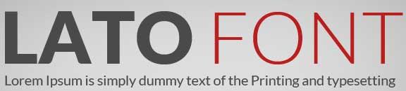 Lato Web Font Kit : Designers Crunch