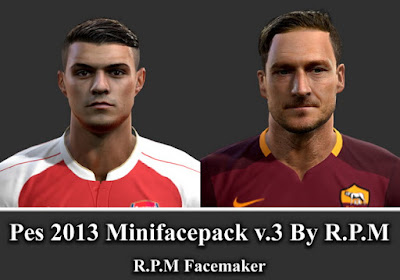 Pes 2013 Minifacepack v.3 By R.P.M