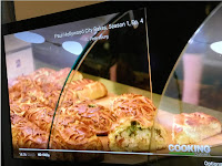 Pic TV screen savory pies