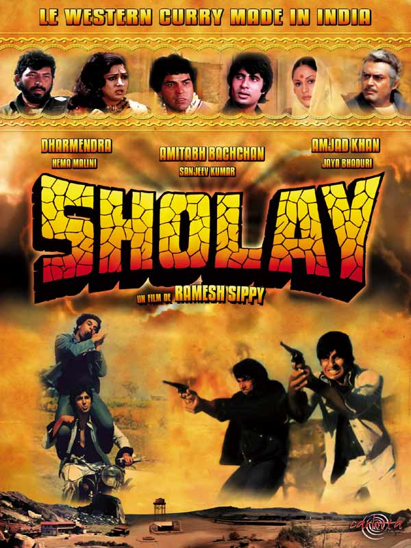 Sholay 1975 Hindi Movie 720p HDRip 1.3GB