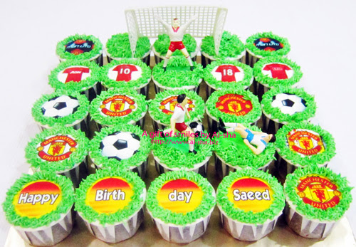 Birthday Cupcake Edible Image Manchester United