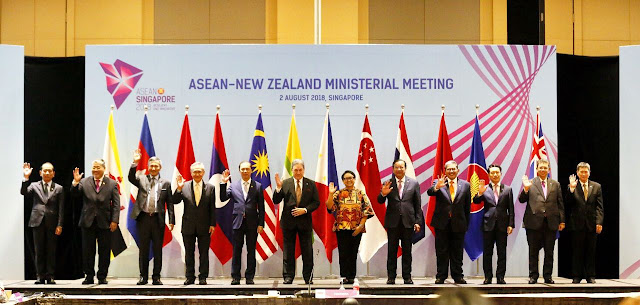 Selandia Baru-ASEAN Hadapi Dampak Proteksionisme dan Perang Dadang