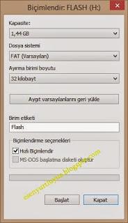 flash bellek hafıza sorunu 1