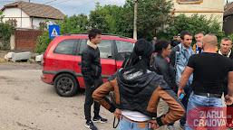 Bărbat din Moțăței, tăiat cu un cuțit în picior, în timpul unui scandal izbucnit în urma unui accident