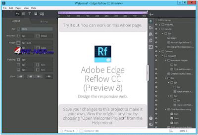 Adobe Edge Reflow CC Preview Version
