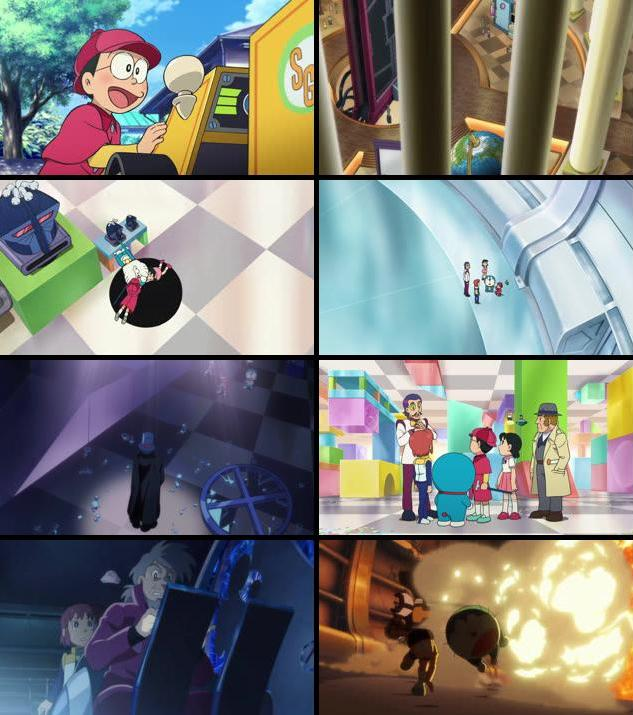 Download Doraemon Nobita's Secret Gadget Museum 2013 Dual Audio Hindi 480p BluRay 300mb