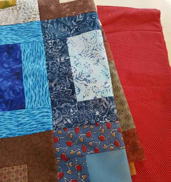 First responder quilt | DevotedQuilter.blogspot.com