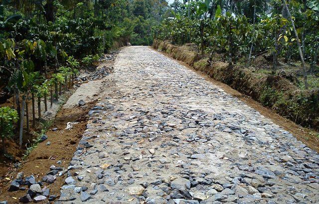 Contoh RAB Dana Desa Padat Karya Cash Tunai (Pekerjaan Jalan Telford