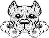 דפי צביעה כלבים לילדים גדולים