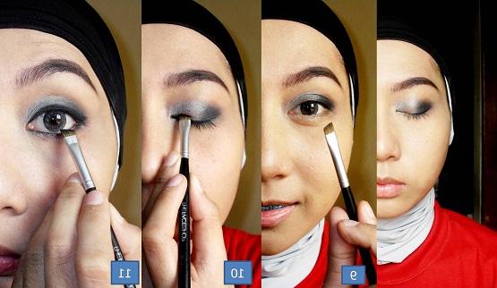cara memakai eyeliner cair untuk mata sipit,cara memakai eyeliner pensil