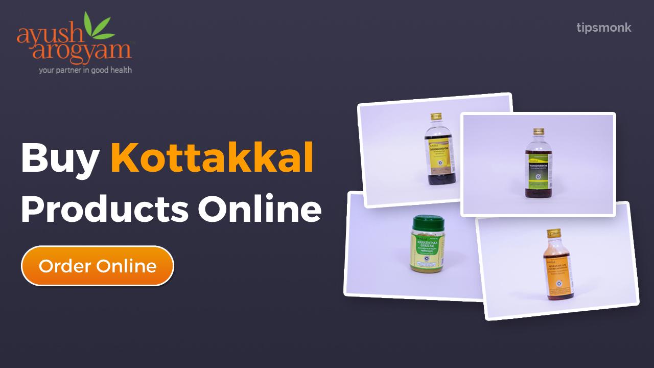Ayush Arogyam - Buy Kottakkal Ayurveda products online - Tipsmonk