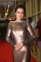 Actress Catherine Tresa in Golden Skin Tight Backless Gown at Gautam Nanda music launchi ~ Exclusive Celebrities Galleries 096.JPG