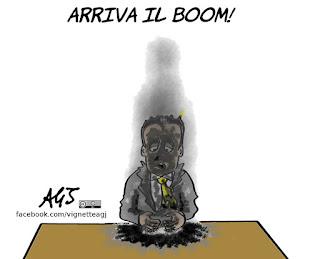 boom economico, di maio, economia, vignetta, satira