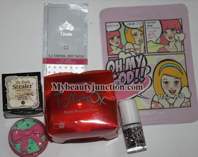 Korean cosmetics haul from W2Beauty including Etude House, Tony Moly, Holika Holika