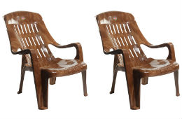 Cello Comfort Sit Back Plastic Chair Set of 2 For Rs 1990 at Snapdeal