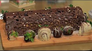 طريقة عمل سويسرول باطار الشيكولاتة مع غادة التلي في زعفران و فانيلا