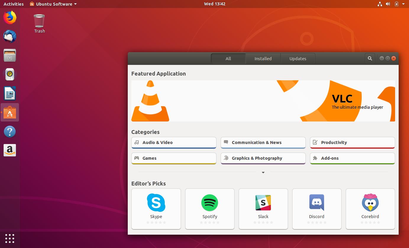 Ubuntu 18 04 Screenshots Tour - See What's New - Linux Uprising Blog