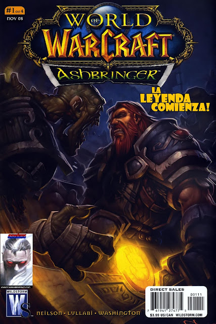 World of Warcraft - Ashbringer - Portada
