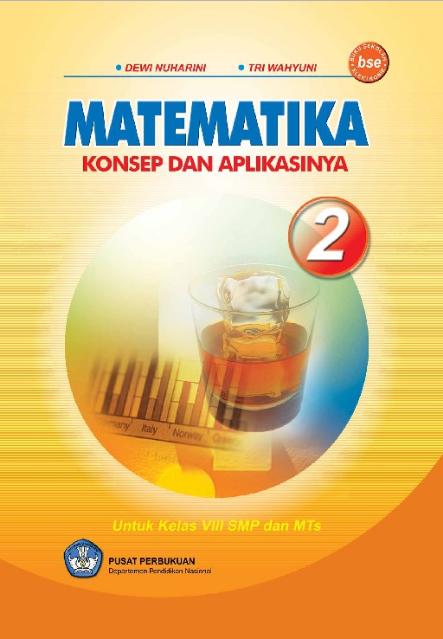 Download Buku Siswa KTSP SMP dan MTs Kelas 8 Matematika Konsep dan Aplikasinya