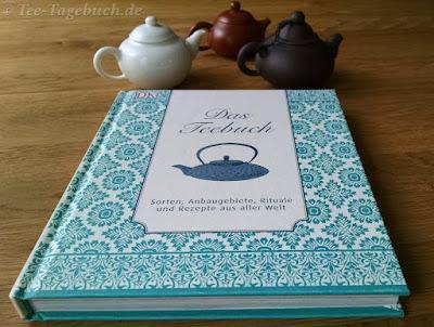Das Teebuch: Fester Einband im Format 20 x 24 cm.
