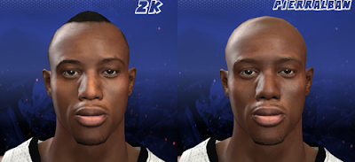 NBA 2K14 Travis Outlaw Cyberface (Hair Update)