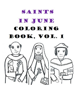 Paper Dali: Catholic Saints in June: New Printables for