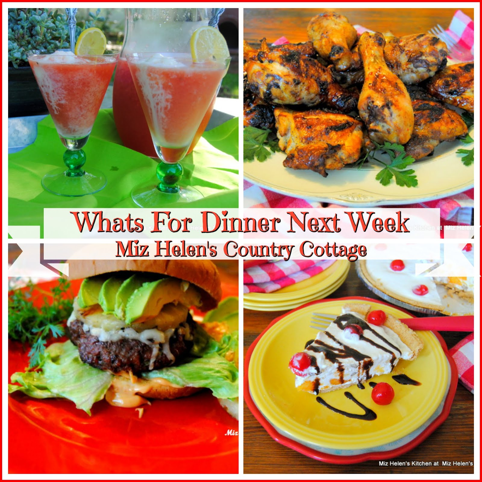 Whats For Dinner Next Week * Week of 7-14-19