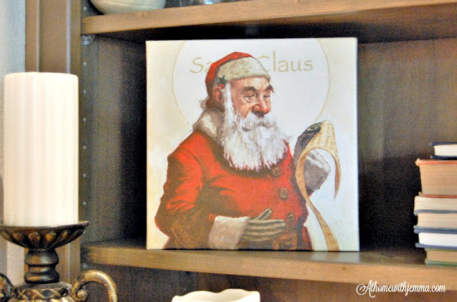 santa-claus-art-print-bookshelf-candles-athomewithjemmma