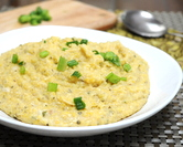 Microwave Green Chili Cheese Grits