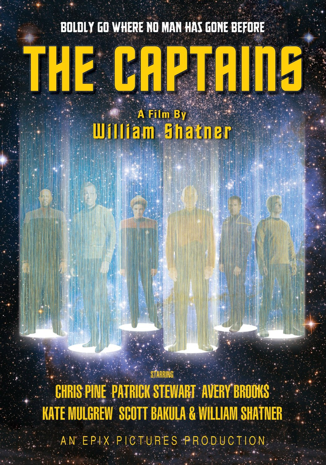 the captains recenzja filmu star trek shatner kirk picard stewart