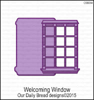 ODBD Custom Welcoming Window Dies